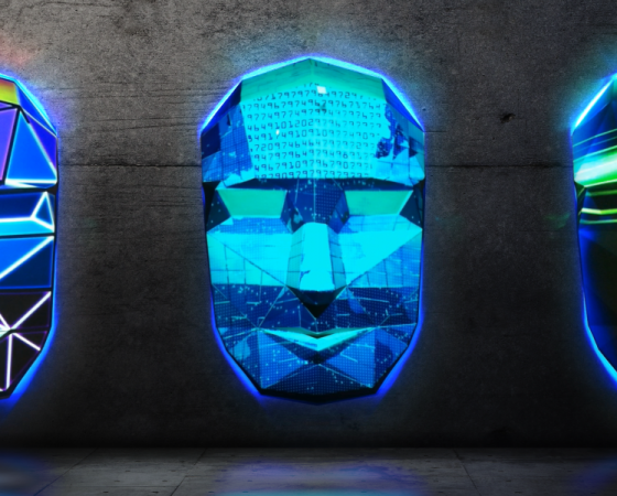Face of Evolution Projection Mapping