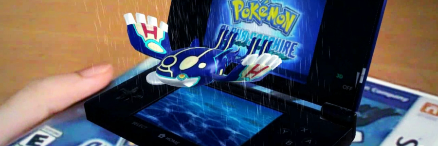 AR on Pokemon Game Box